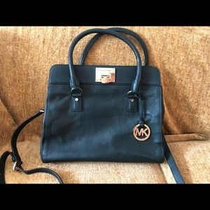 Forest Green Michael Kors Tote